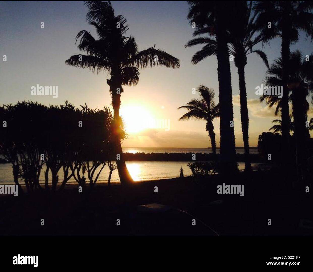 Spanish evening - Stock Image