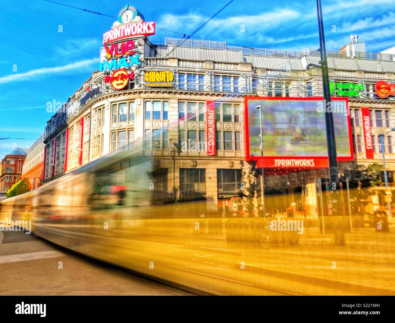 Manchester Printworks - Stock Image