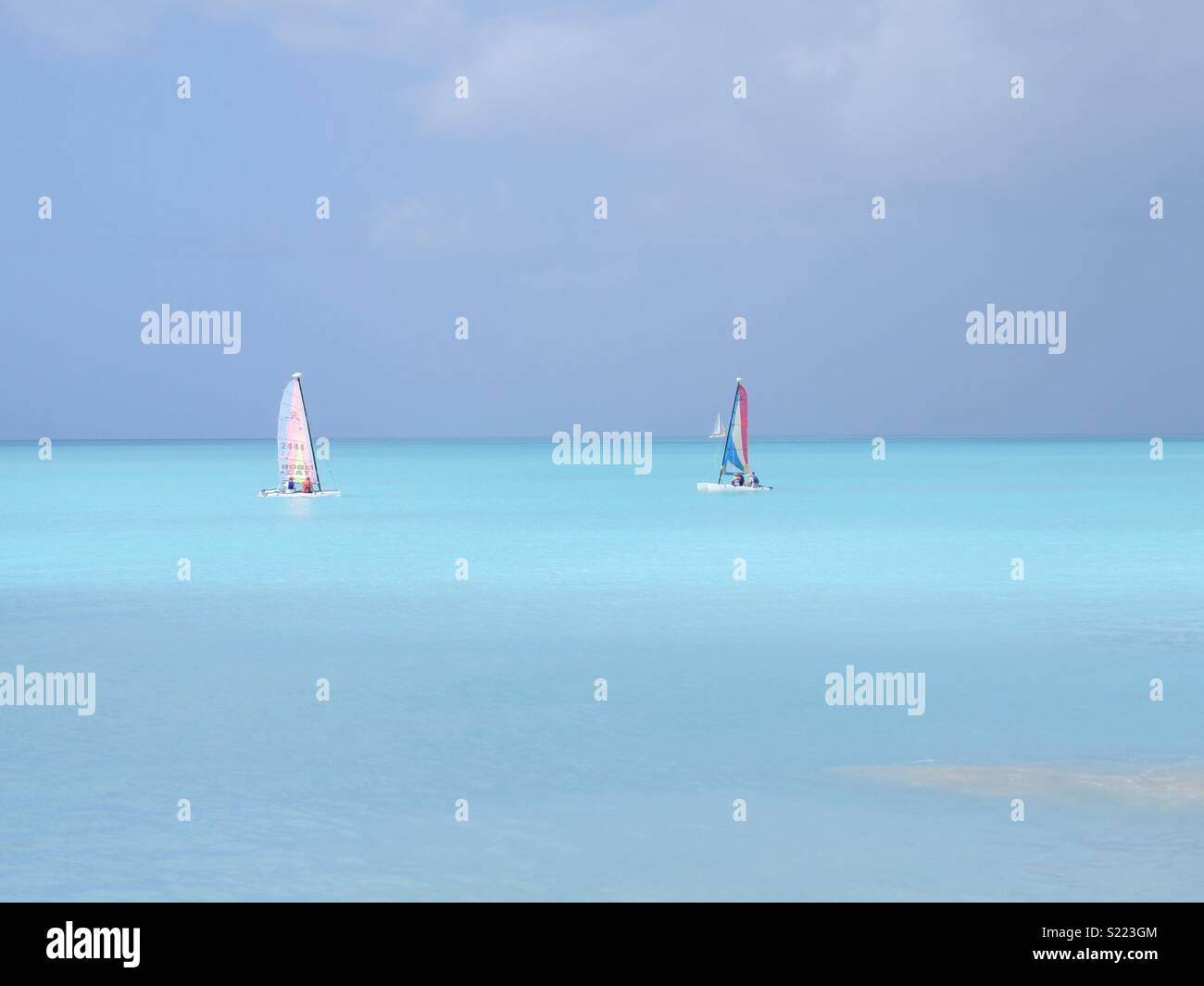 Jolly Beach, Antigua - Stock Image