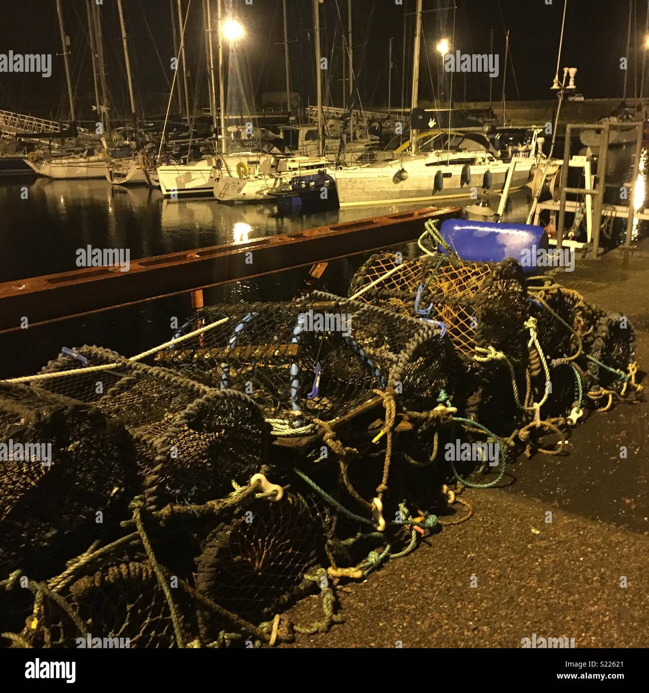Nairn harbour - Stock Image