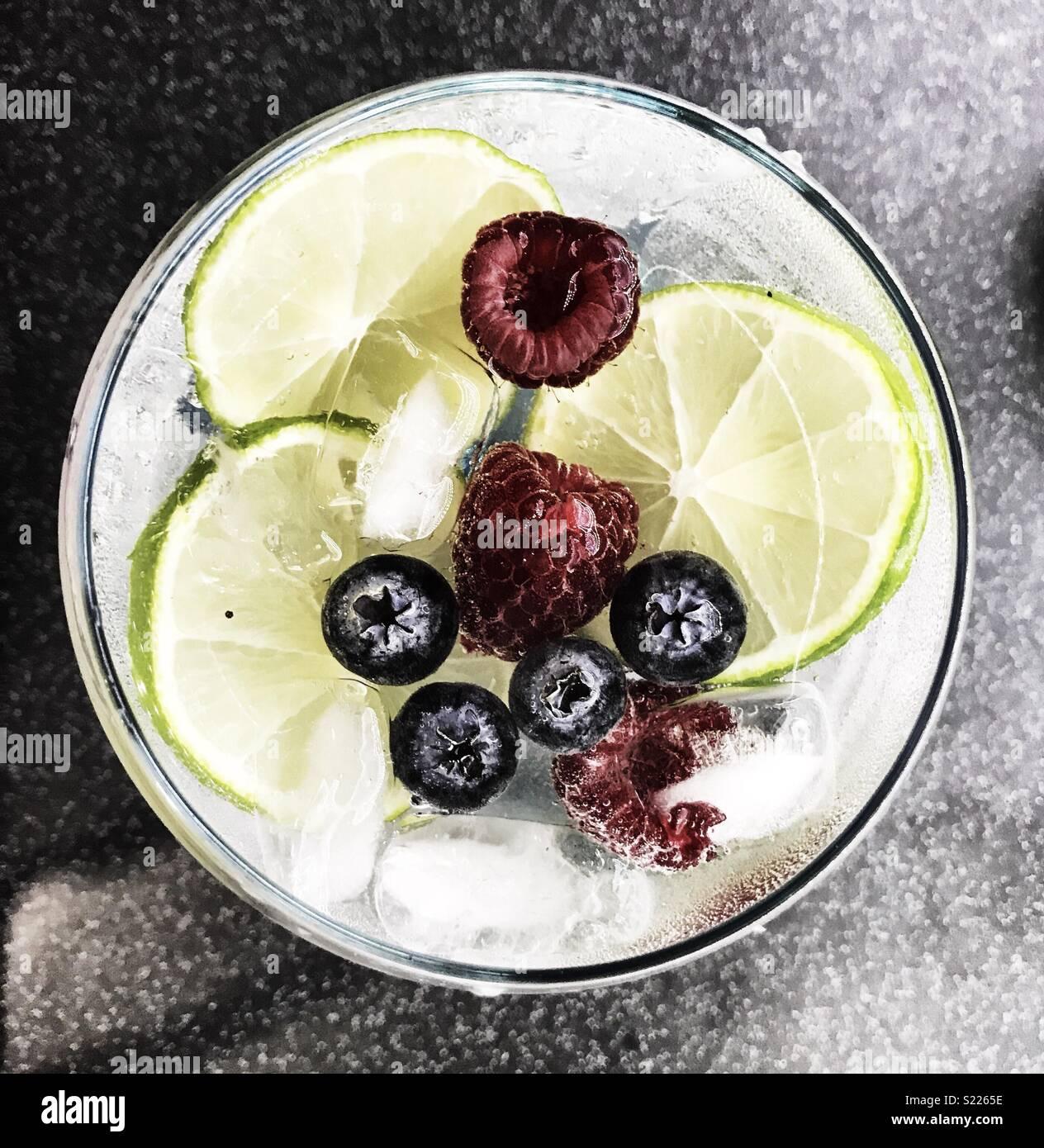 Gin o'clock - Stock Image