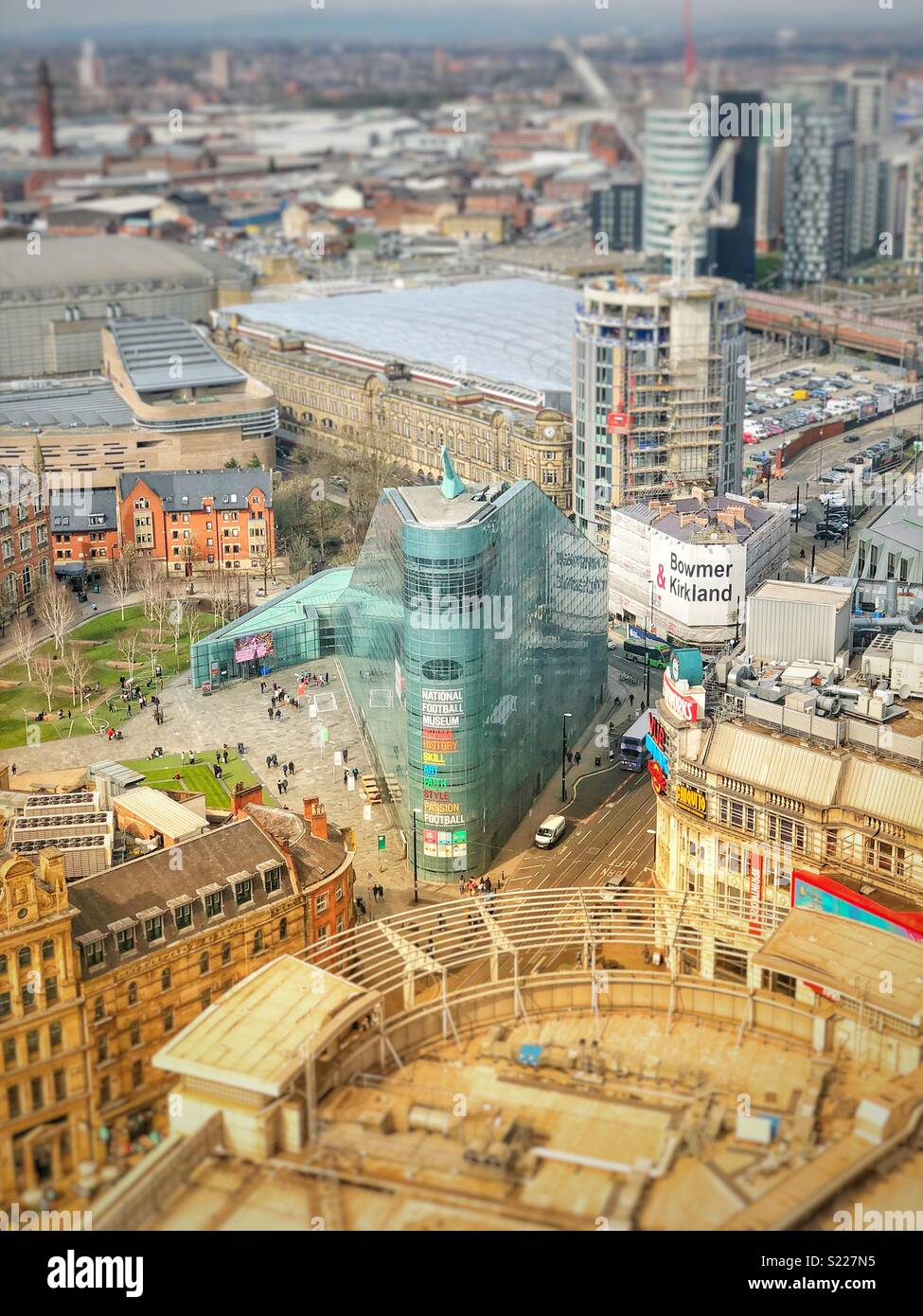 National Football Museum - Manchester - Stock Image