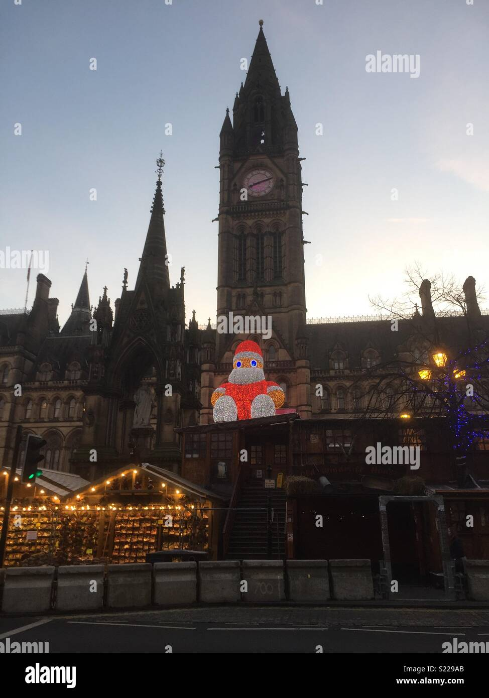 Manchester Christmas Markets - Stock Image