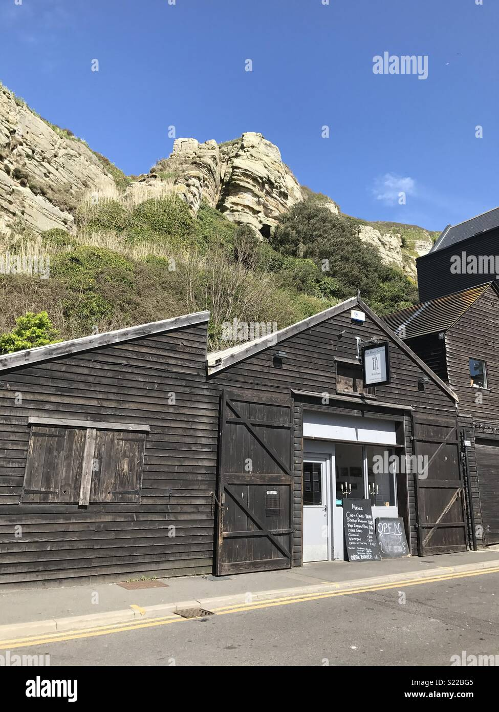 Rock-A-Nore, Hastings, Sussex - Stock Image