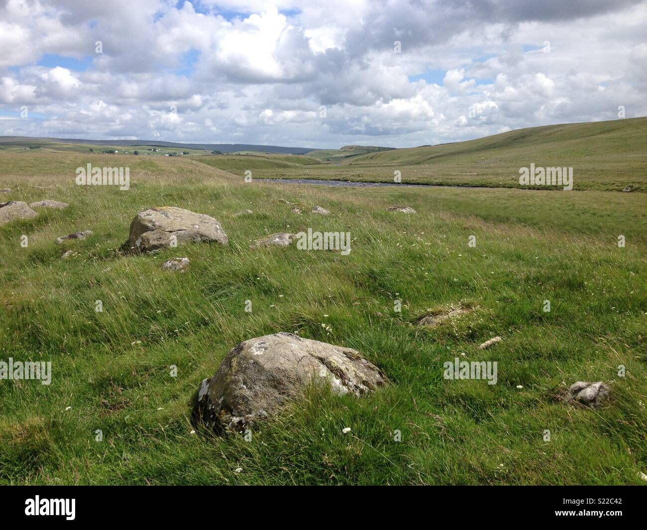 River Tees, North Pennines - Stock Image
