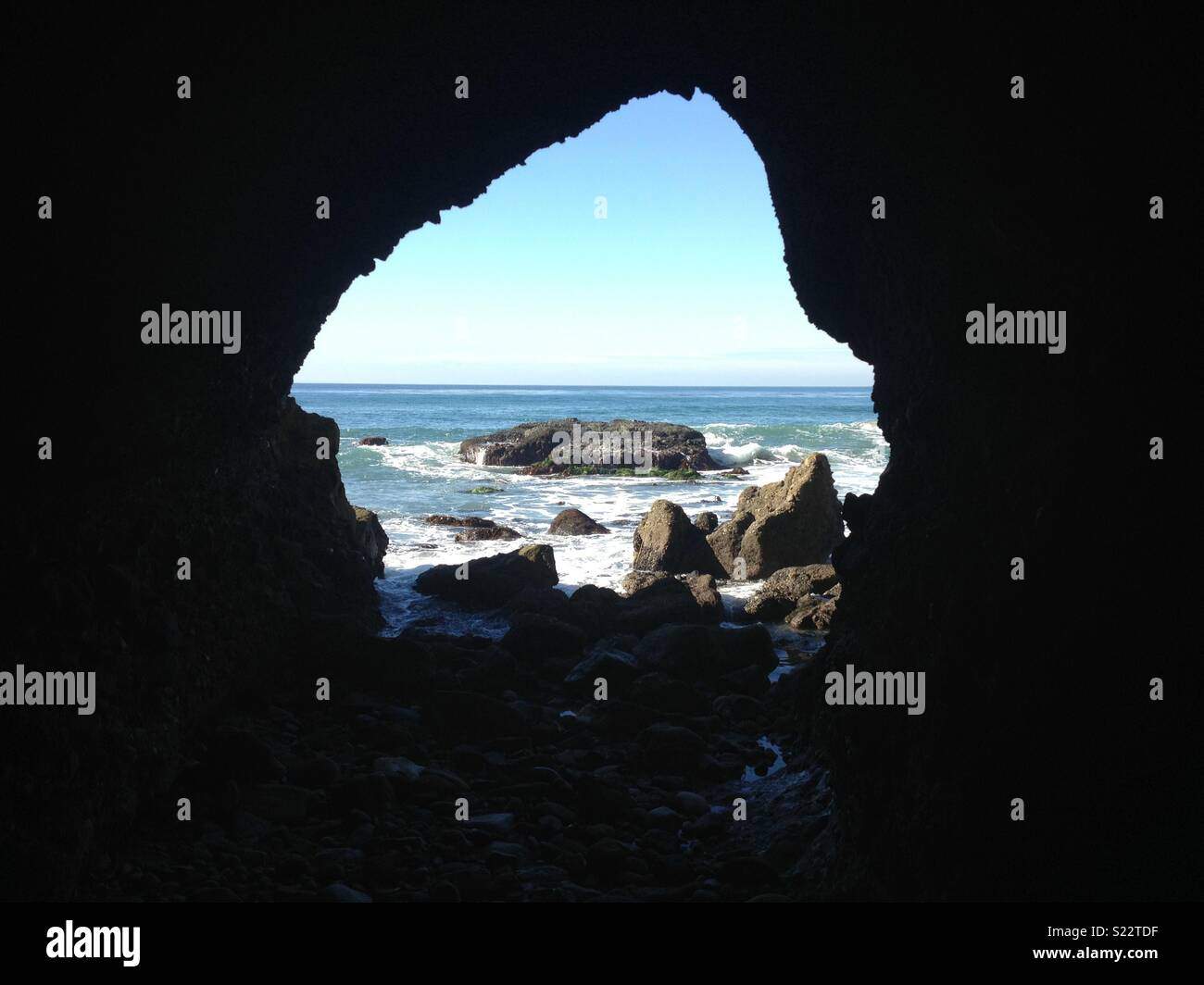 Cave at Dana Point - Stock Image