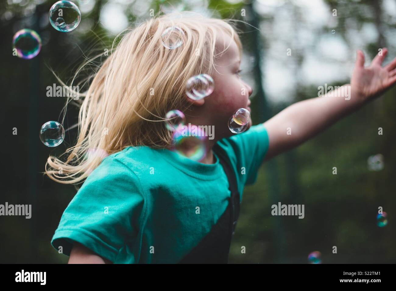 Bubbles - Stock Image