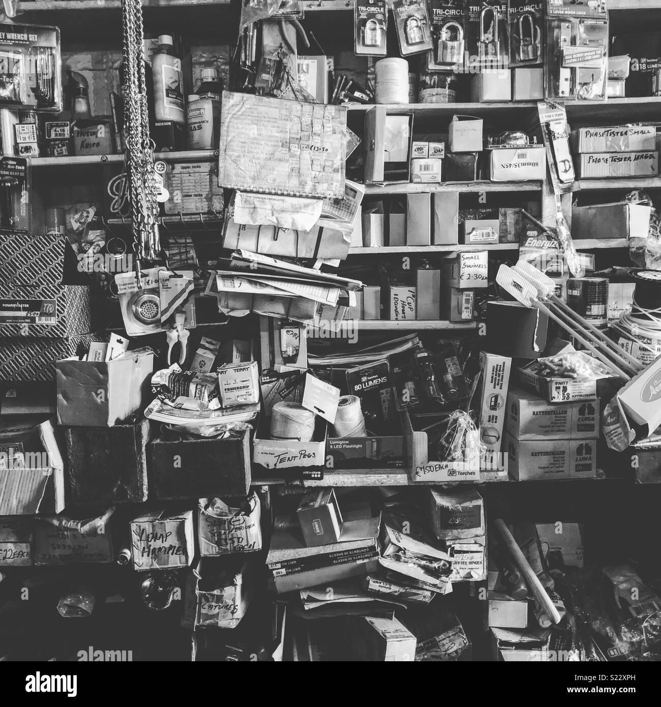 Junk Shop - Stock Image