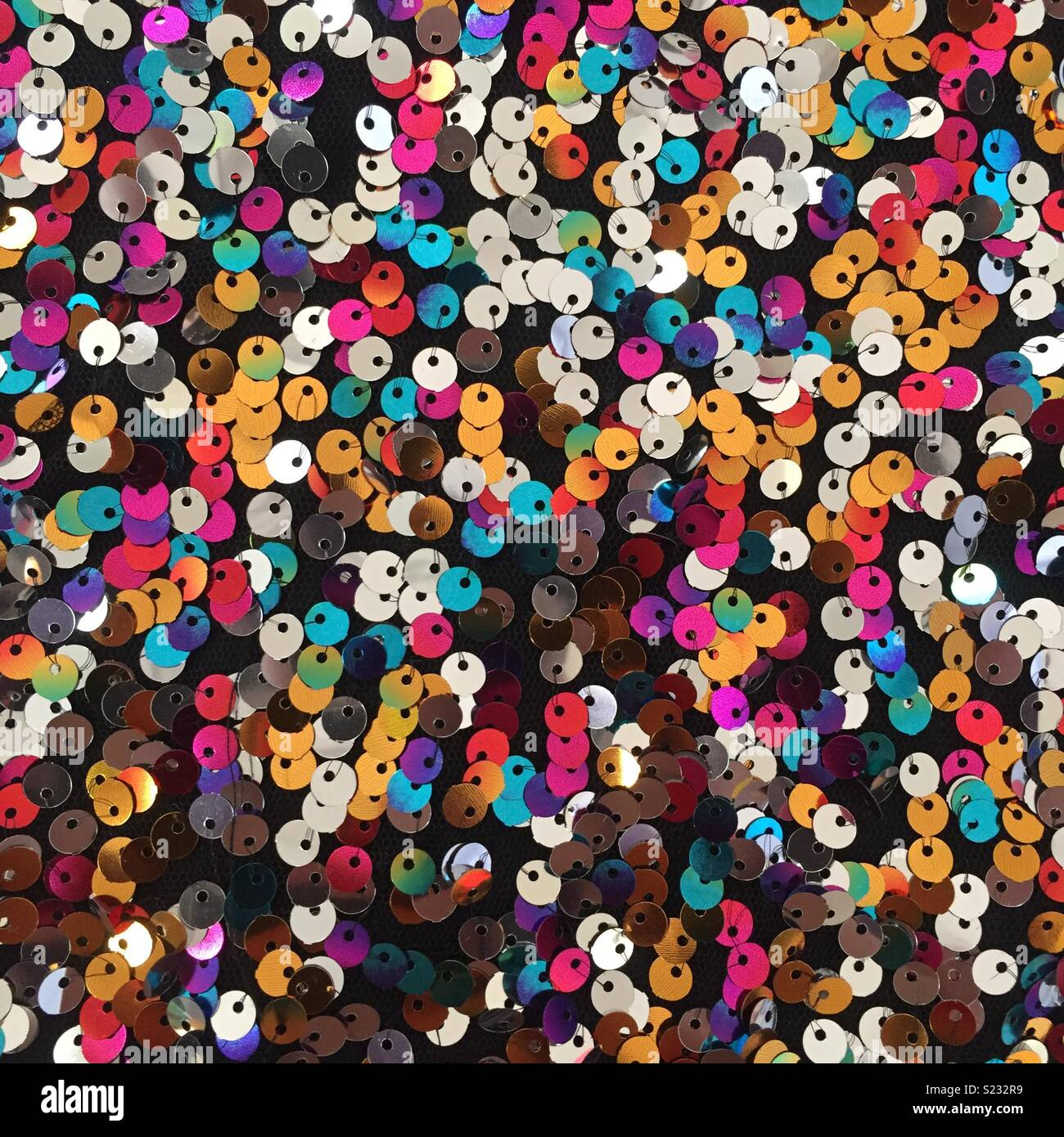 Colorful sequins Stock Photo   Alamy