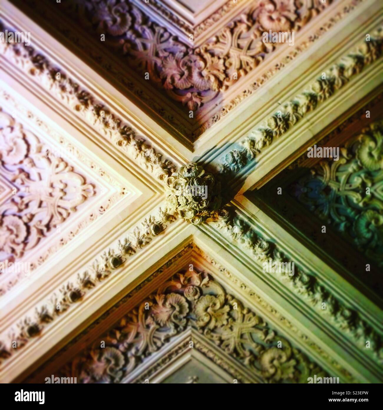 Ceiling and saturation - Stock Image