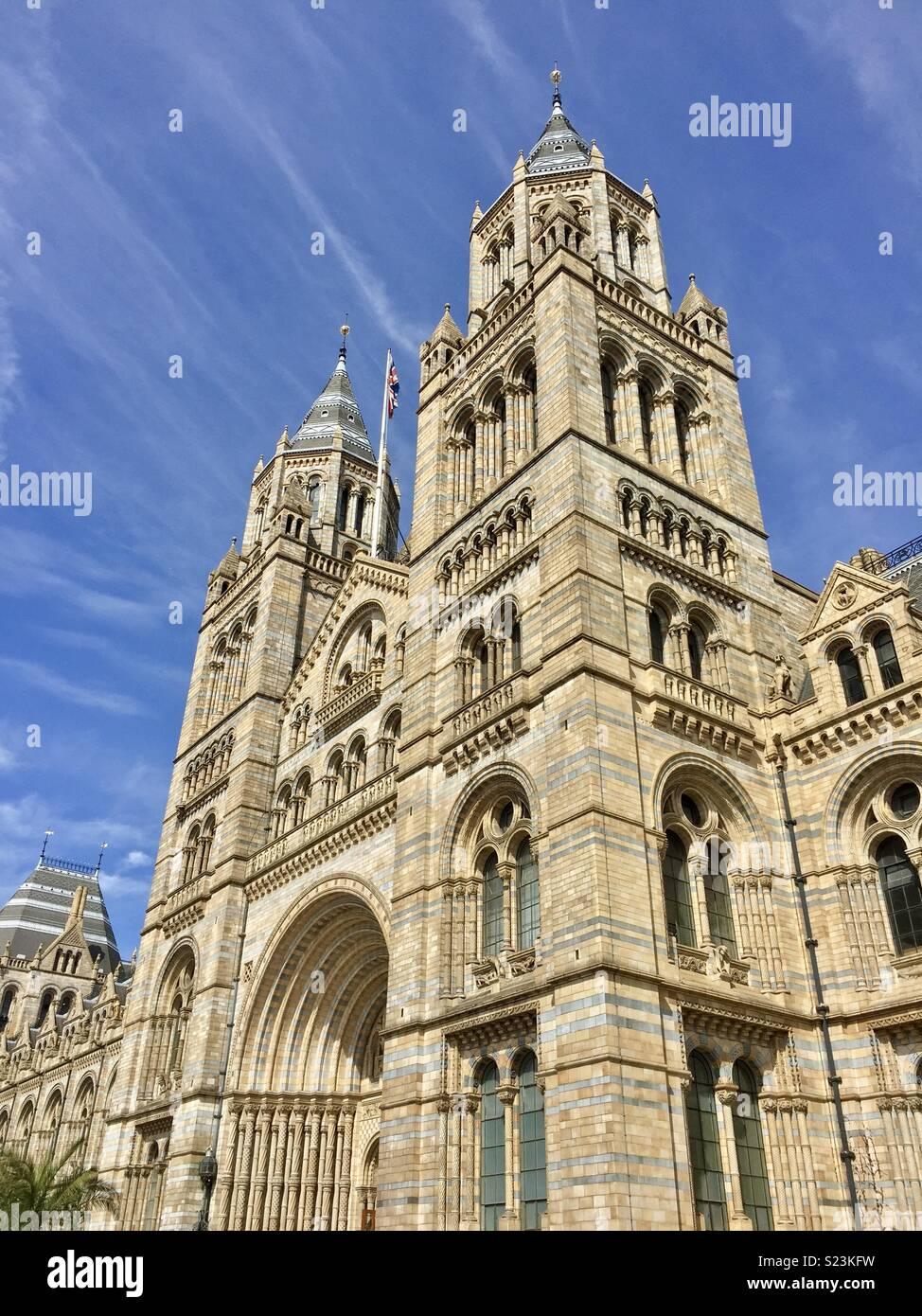 Natural History Museum London - Stock Image