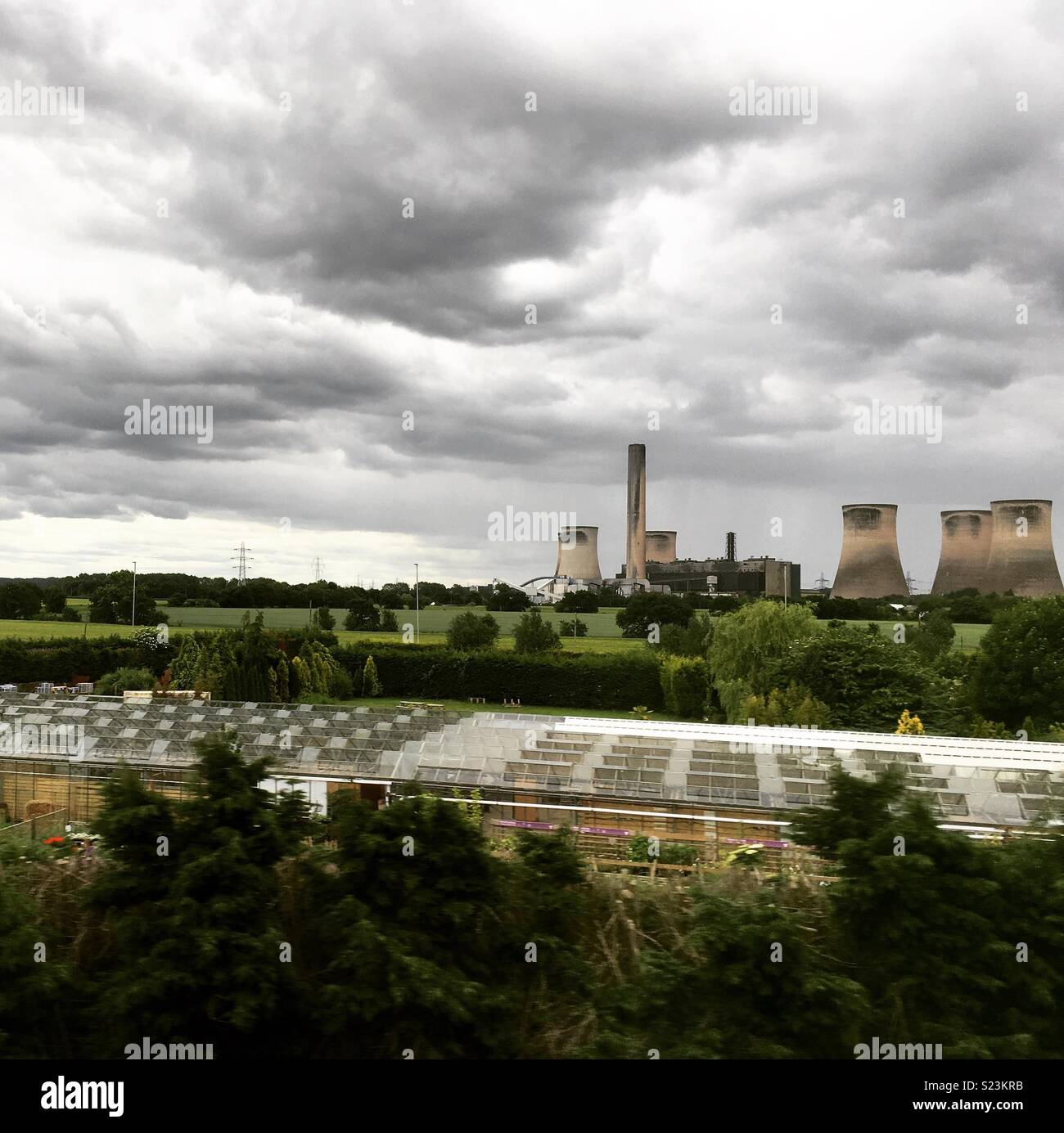 View from train - Stock Image