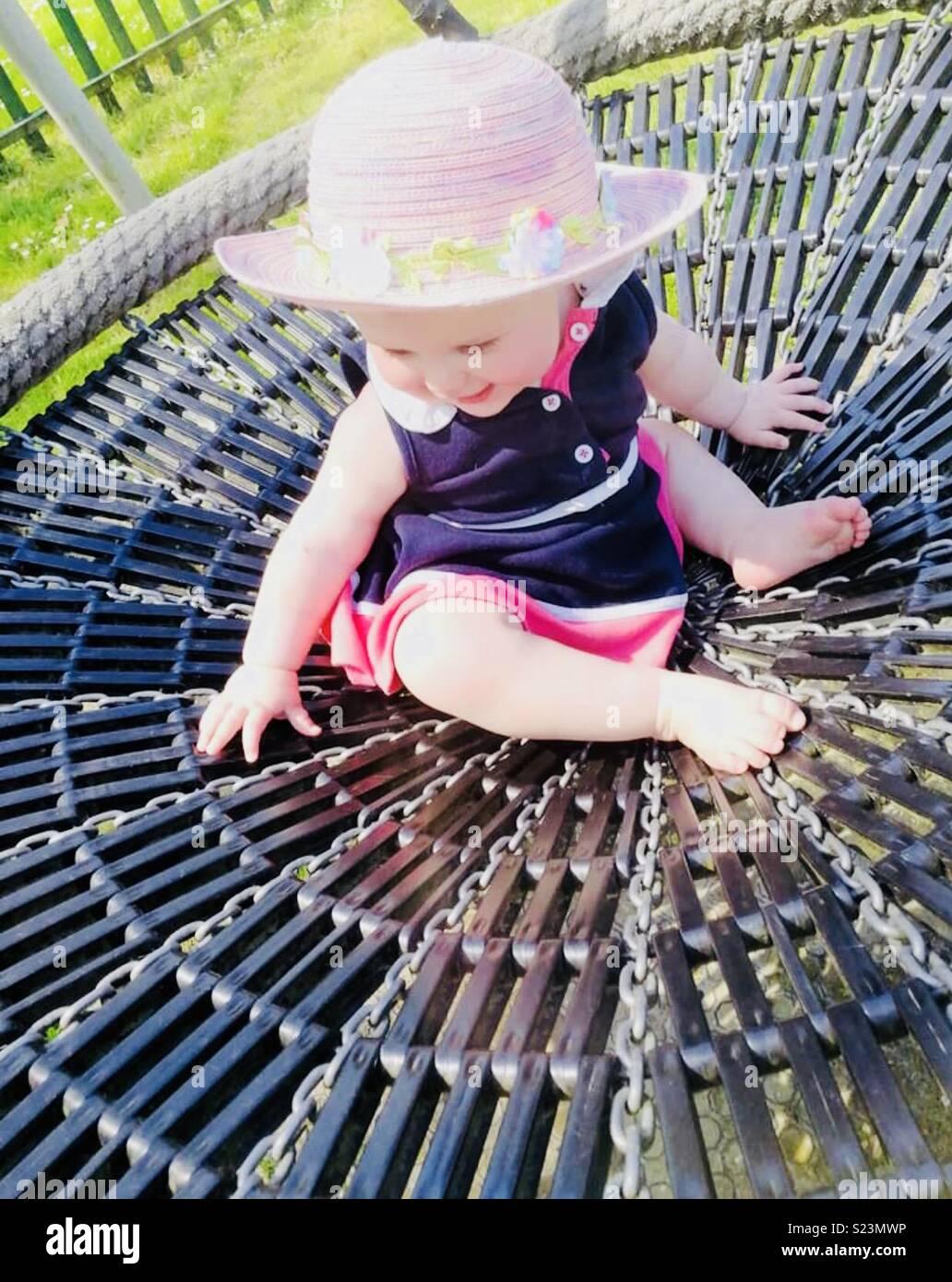 Sunday's, summer, outdoorsplay - Stock Image