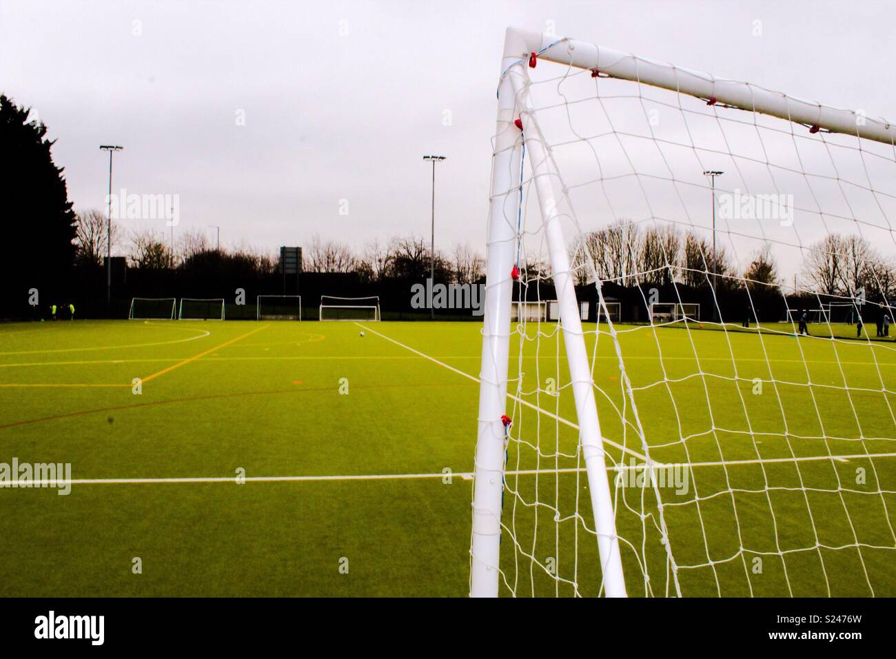 4g pitch - Stock Image