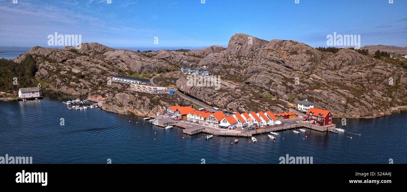 Telavåg, Sotra, Hordaland, Norway - Stock Image