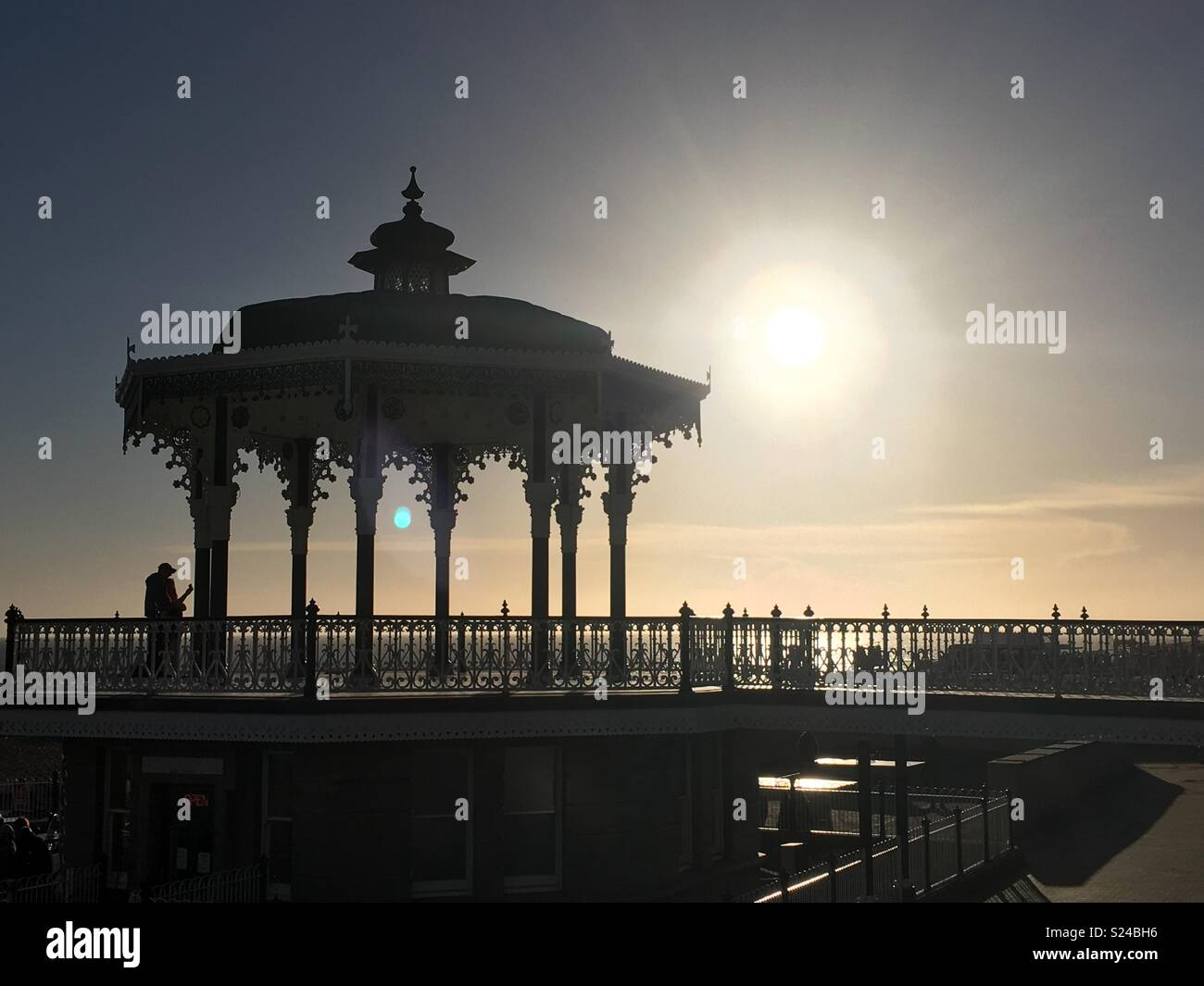 The Bandstand at Brighton - Stock Image