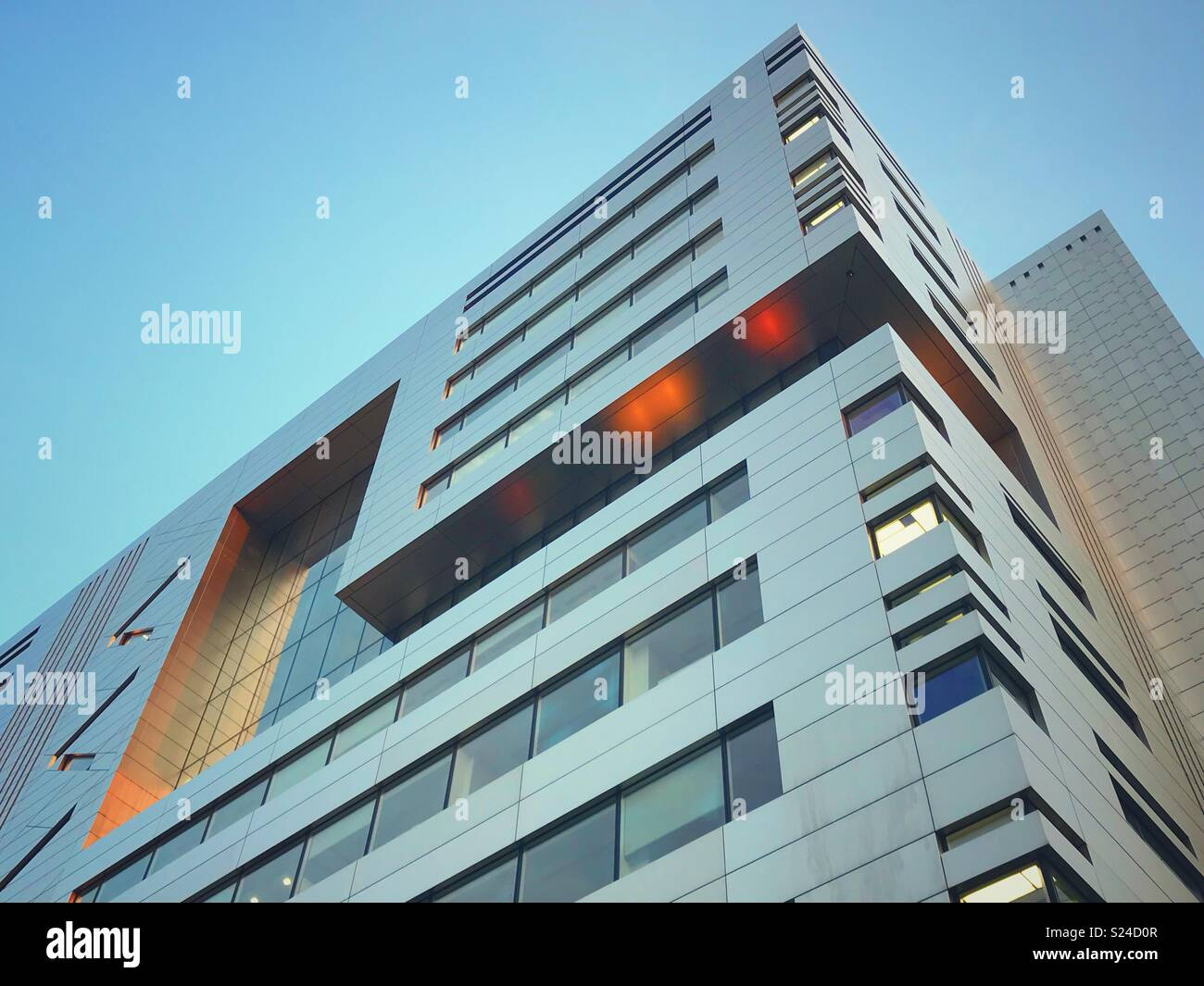 The USB building in Broadgate, City of London - Stock Image