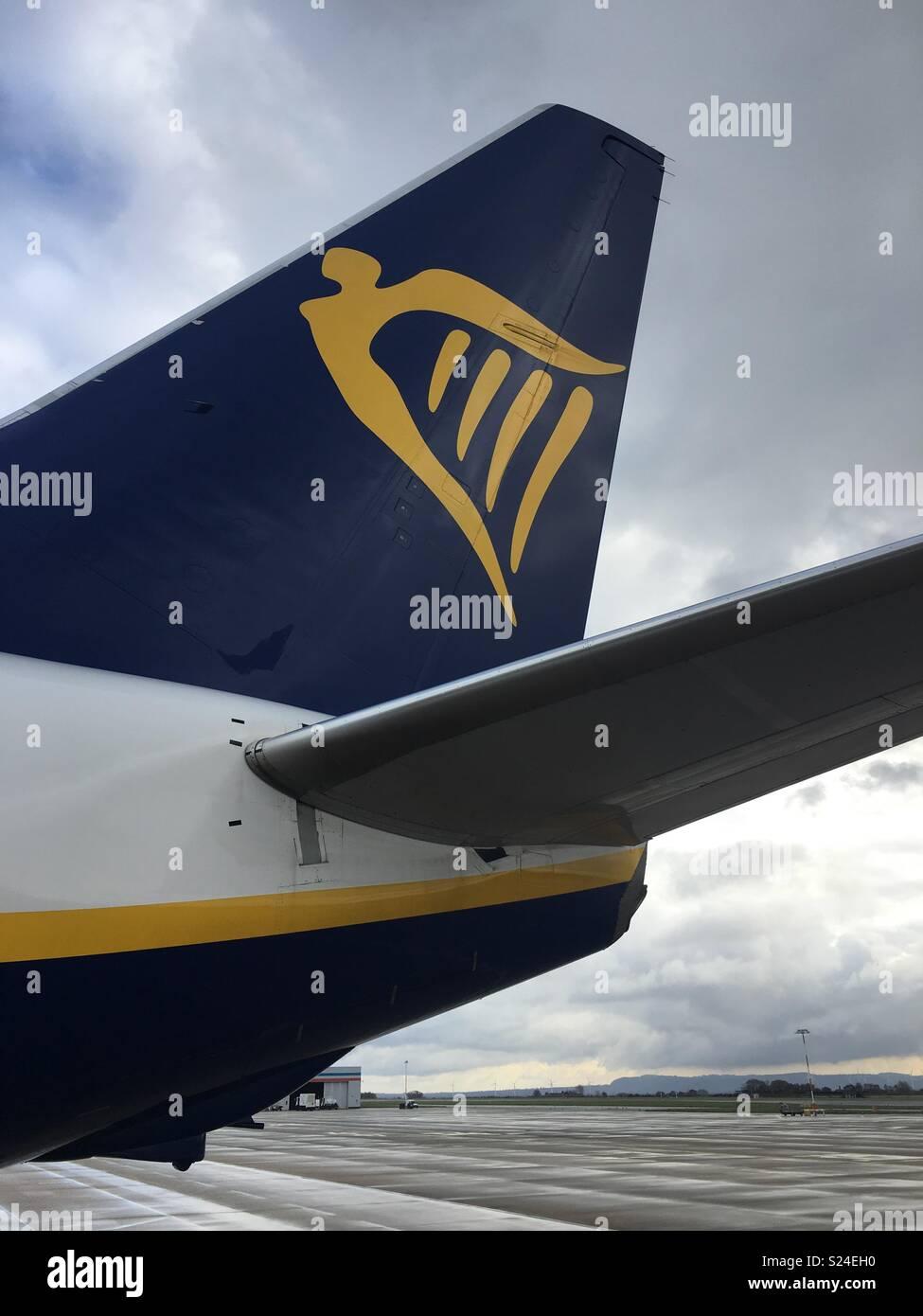 Ryanair logo - Stock Image