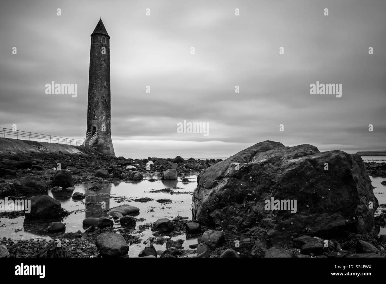 The Chaine Memorial, Larne, Northern Ireland - Stock Image