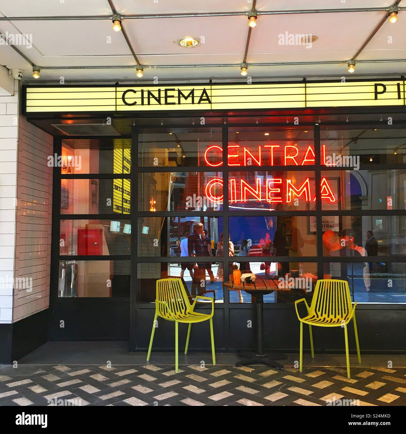 Picturehouse central cinema - Stock Image