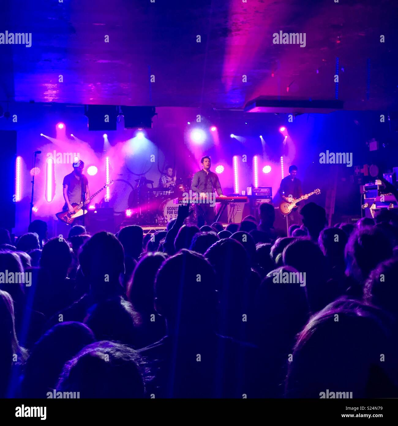 Scouting For Girls live in Oxford - Stock Image