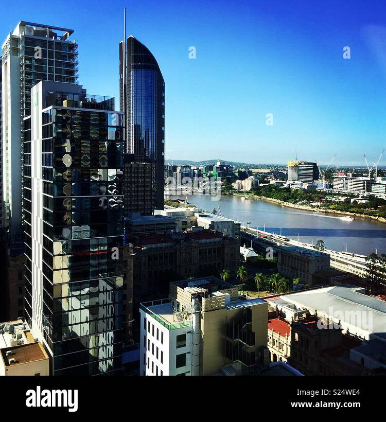 Brisbane Australia - Stock Image