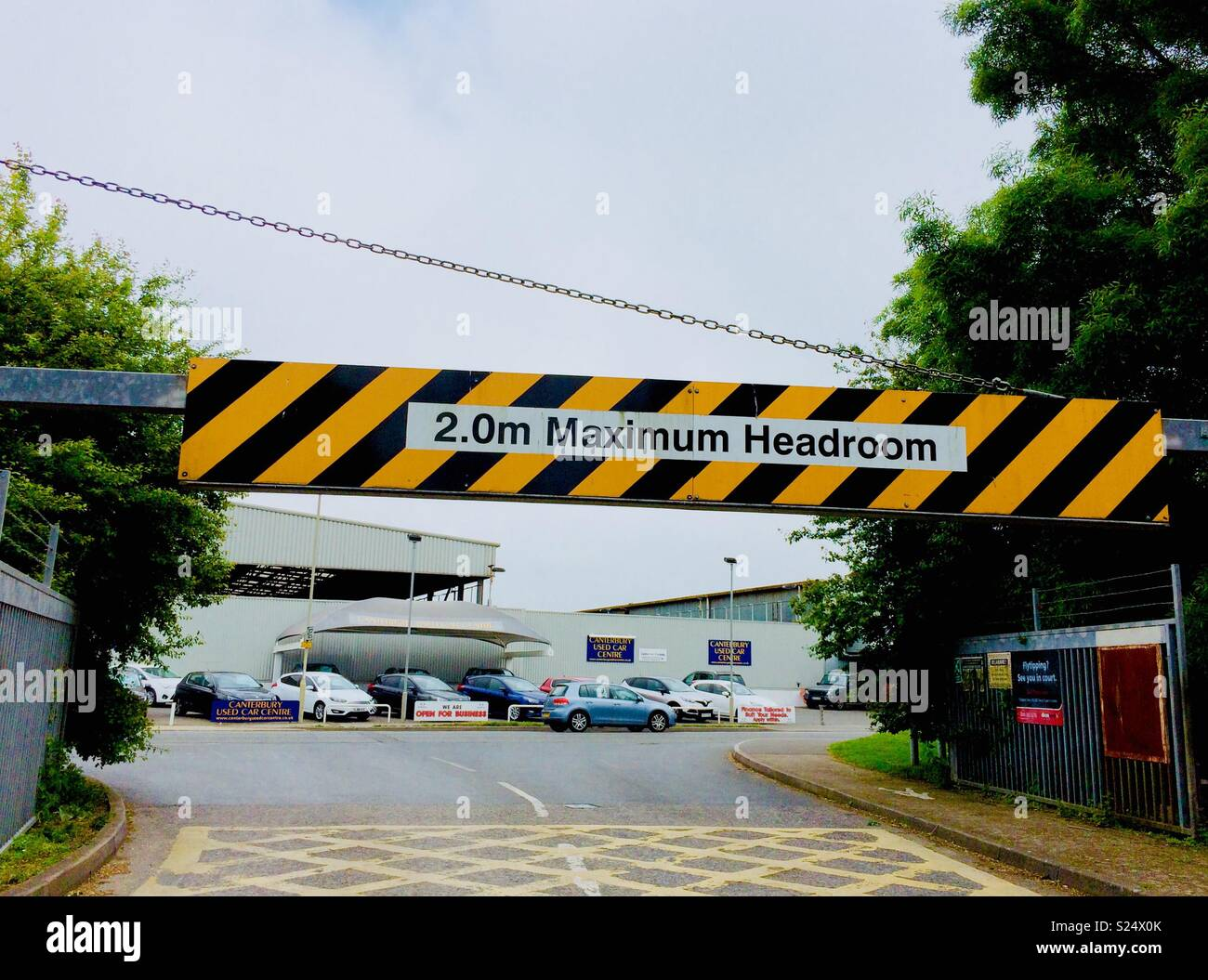 Height Restriction Barrier High Resolution Stock Photography And Images Alamy