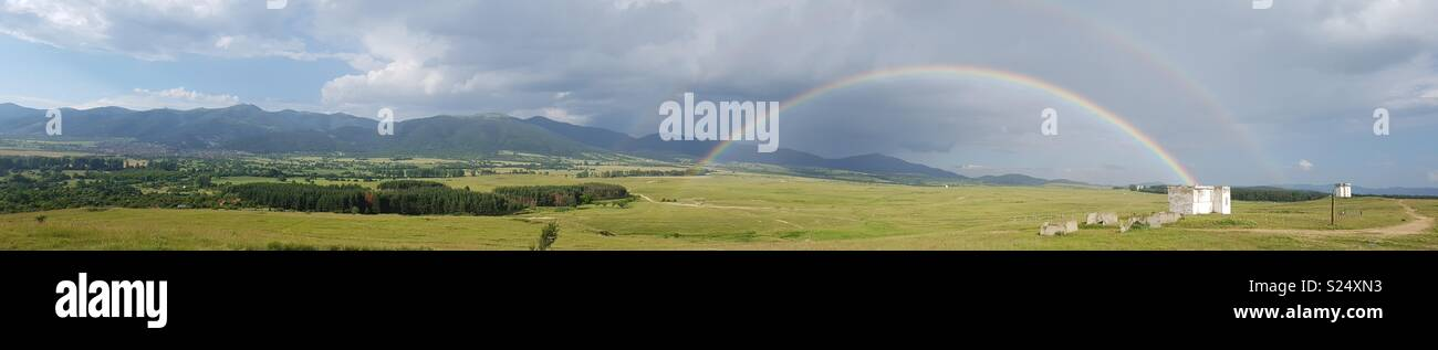 Bulgarian rainbow - Stock Image