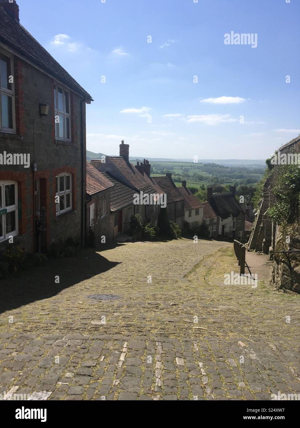 Hovis Hill from advert - Stock Image