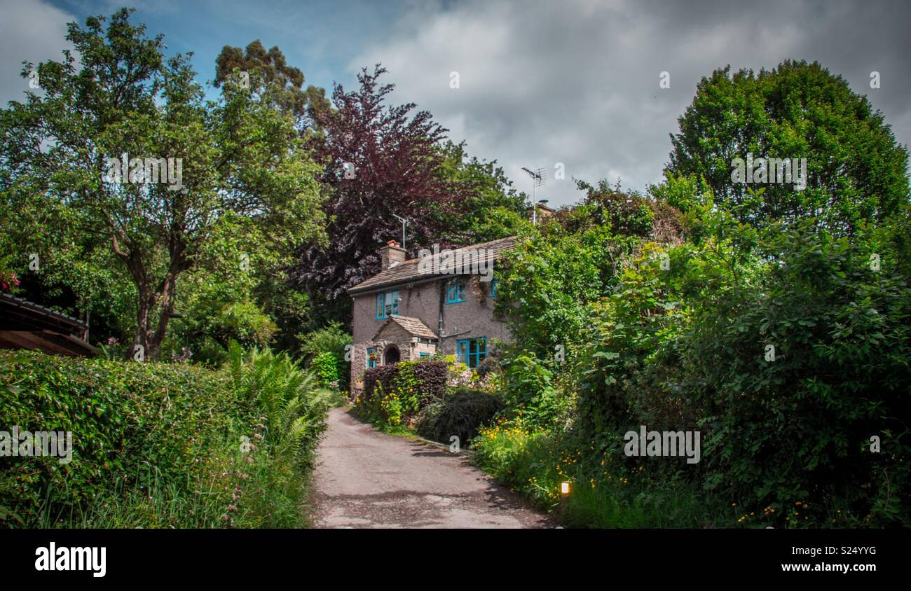 Cheshire Country Cottage - Stock Image