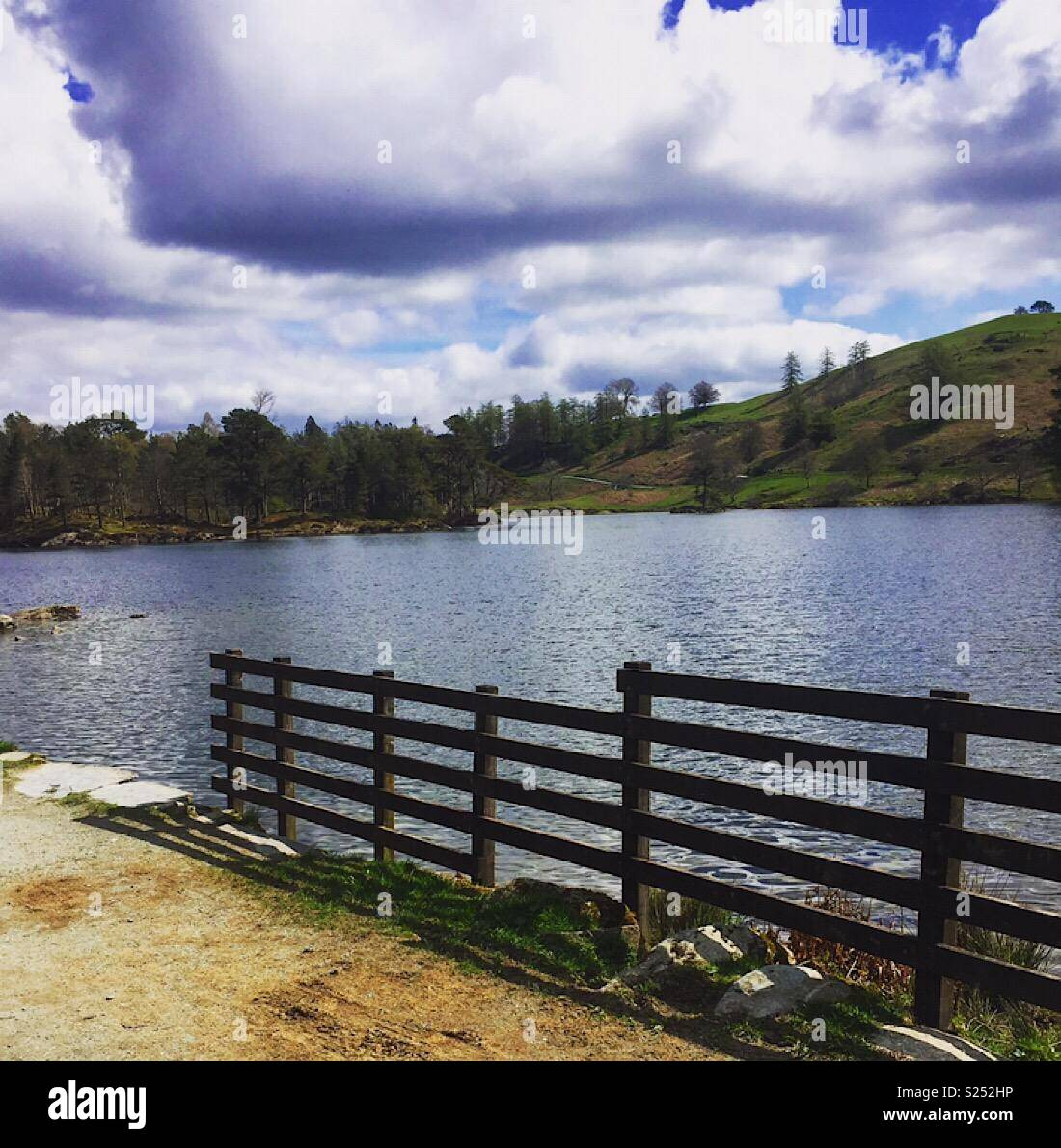 Tarn howes, relax - Stock Image