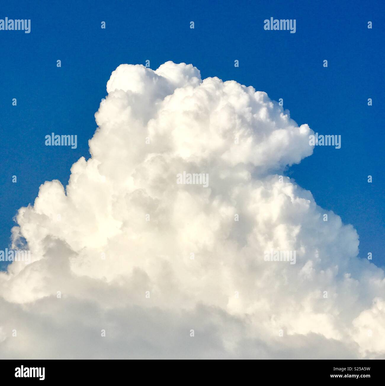 Ice cream cloud - Stock Image