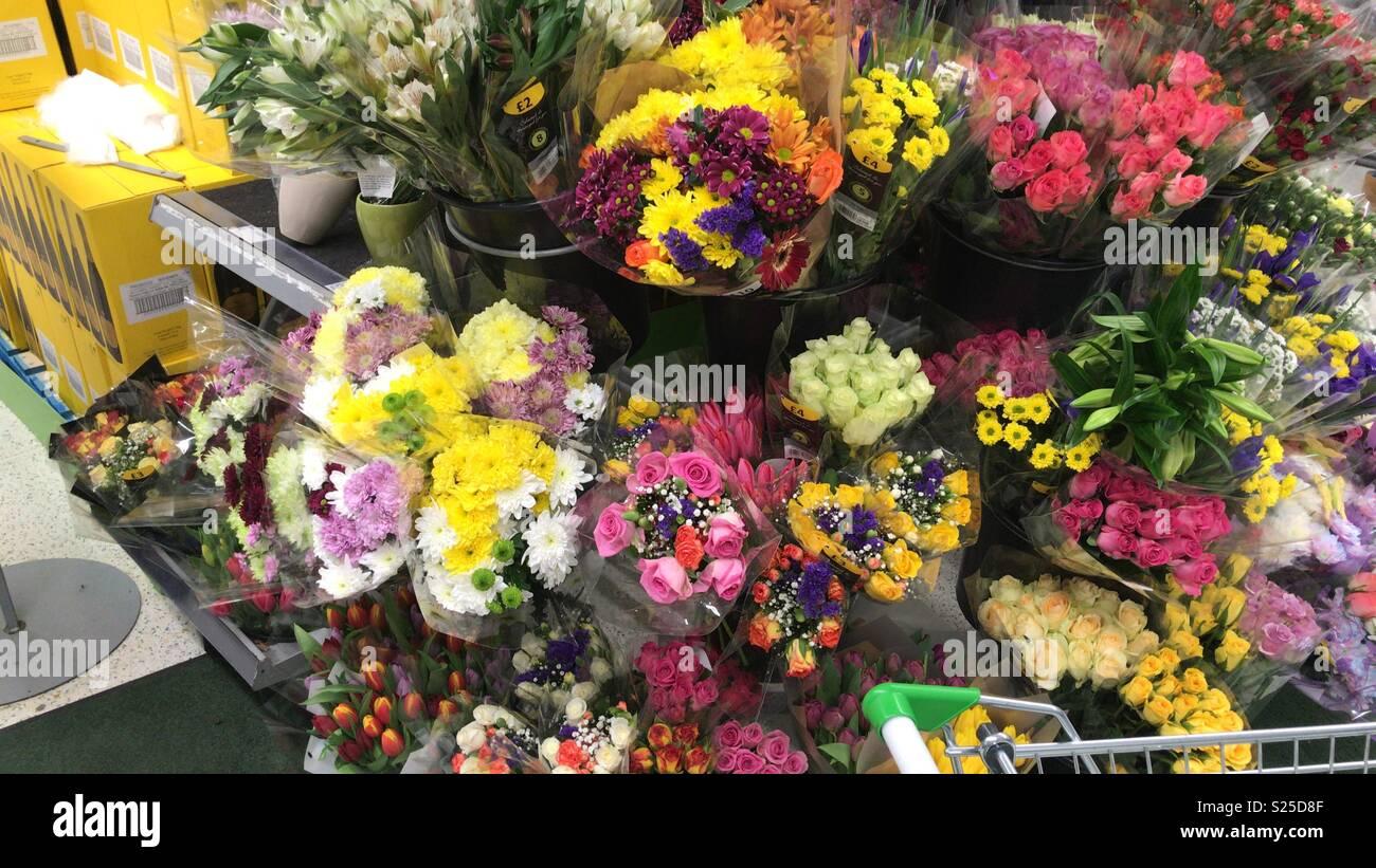 Asda flowers Stock Photo: 311136127 - Alamy