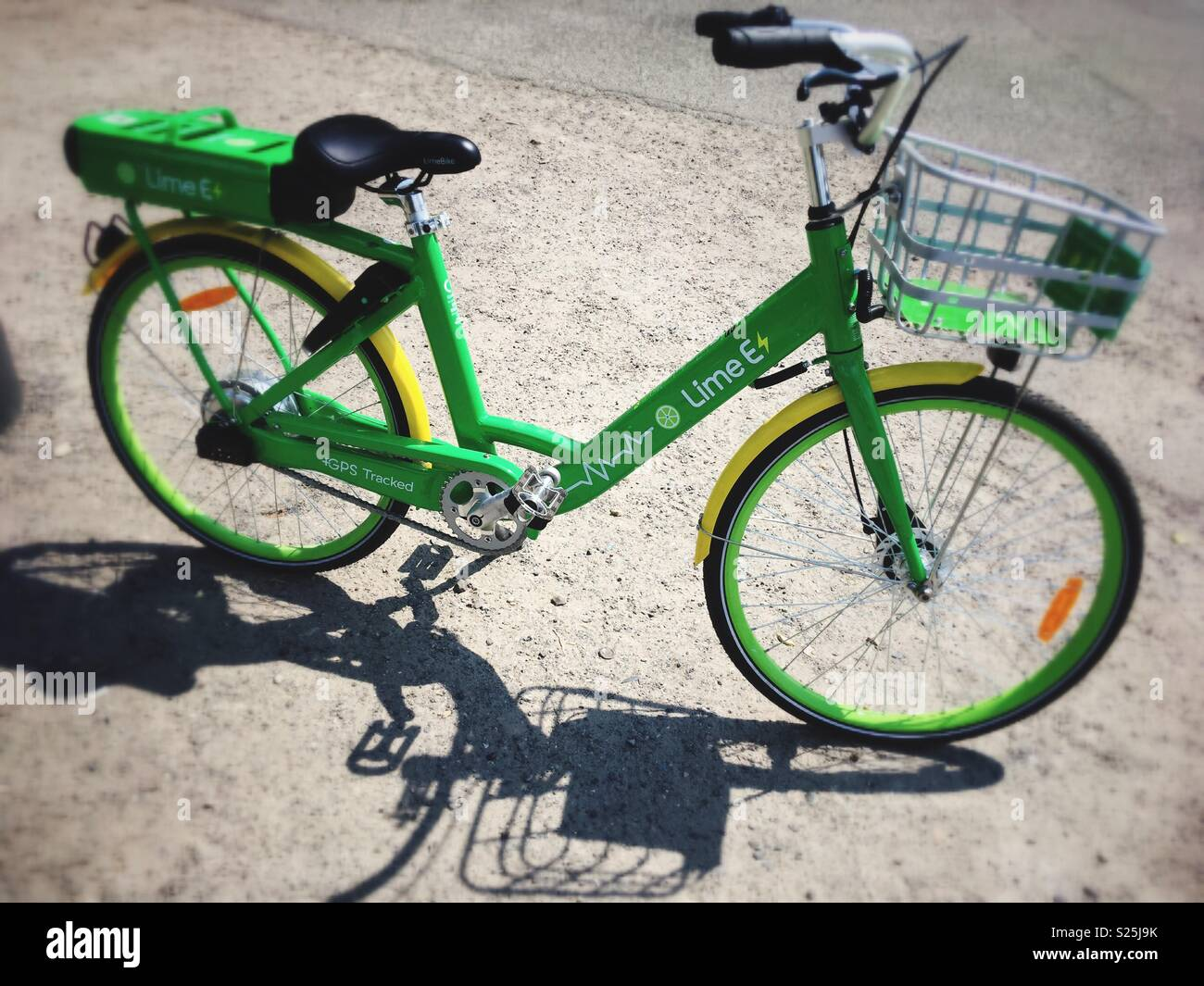 Electric Bicycle Rental Stock Photos Amp Electric Bicycle