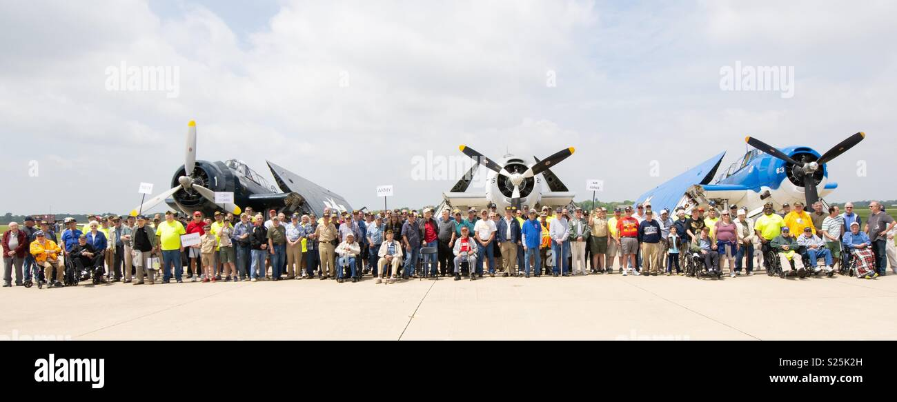Veterans Appreciation Day! - Stock Image