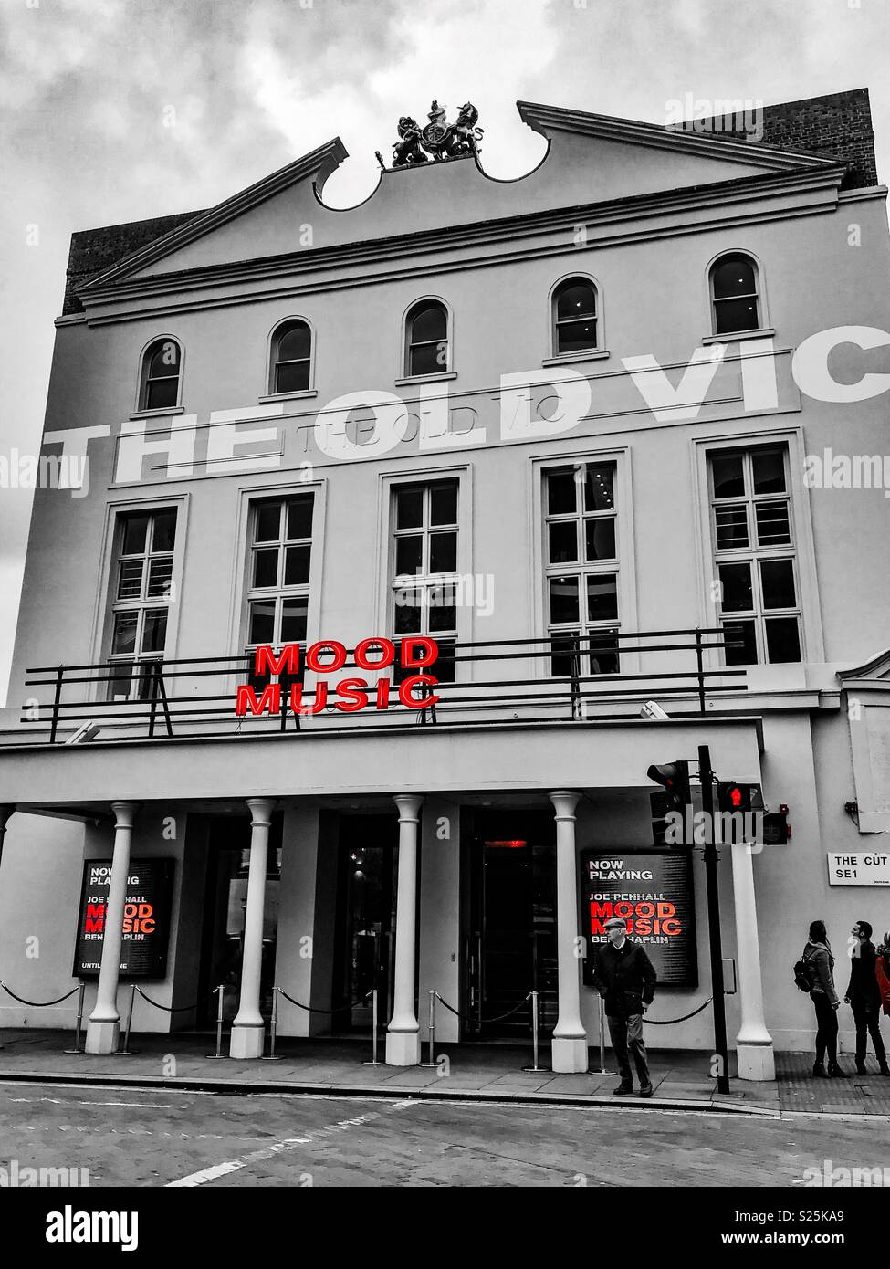 The Old Vic Theatre, London - Stock Image