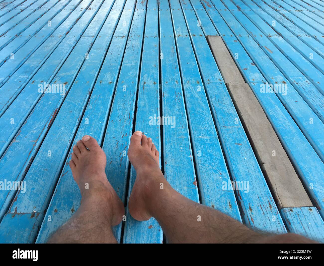 Bare foot - Stock Image