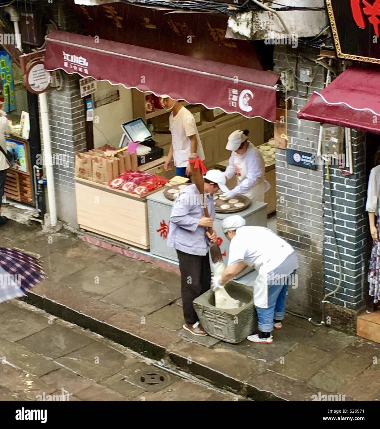 Chongqing China - Stock Image