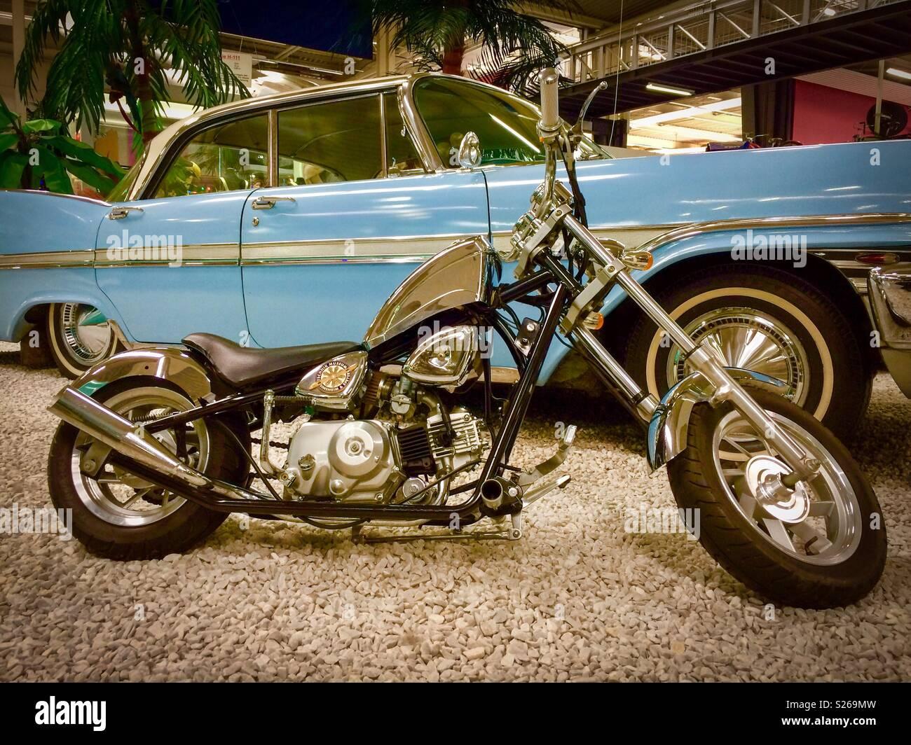 Mini Bike Stock Photos Images Alamy Old Honda Bikes Image
