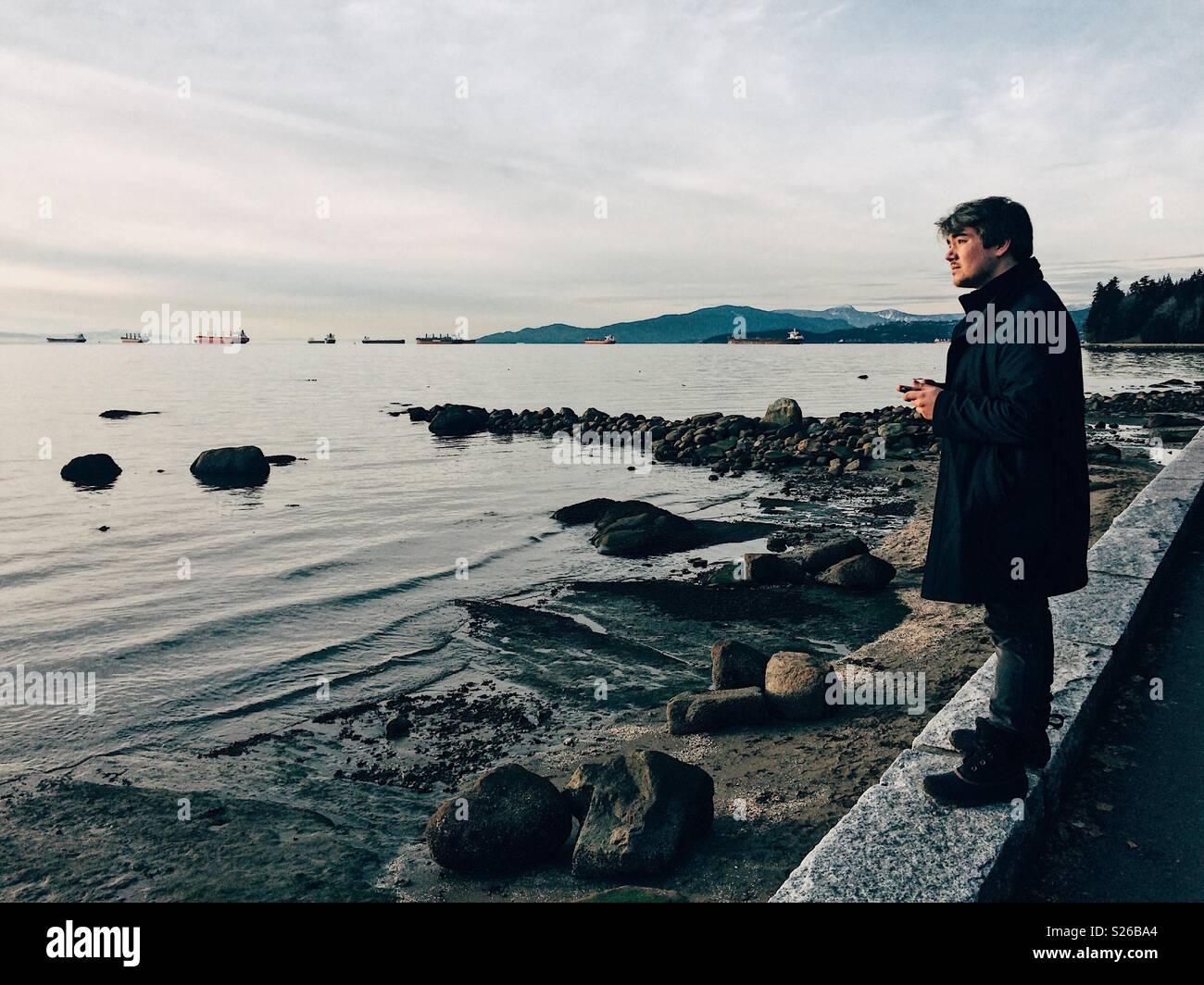 Modern Solitude - Stock Image
