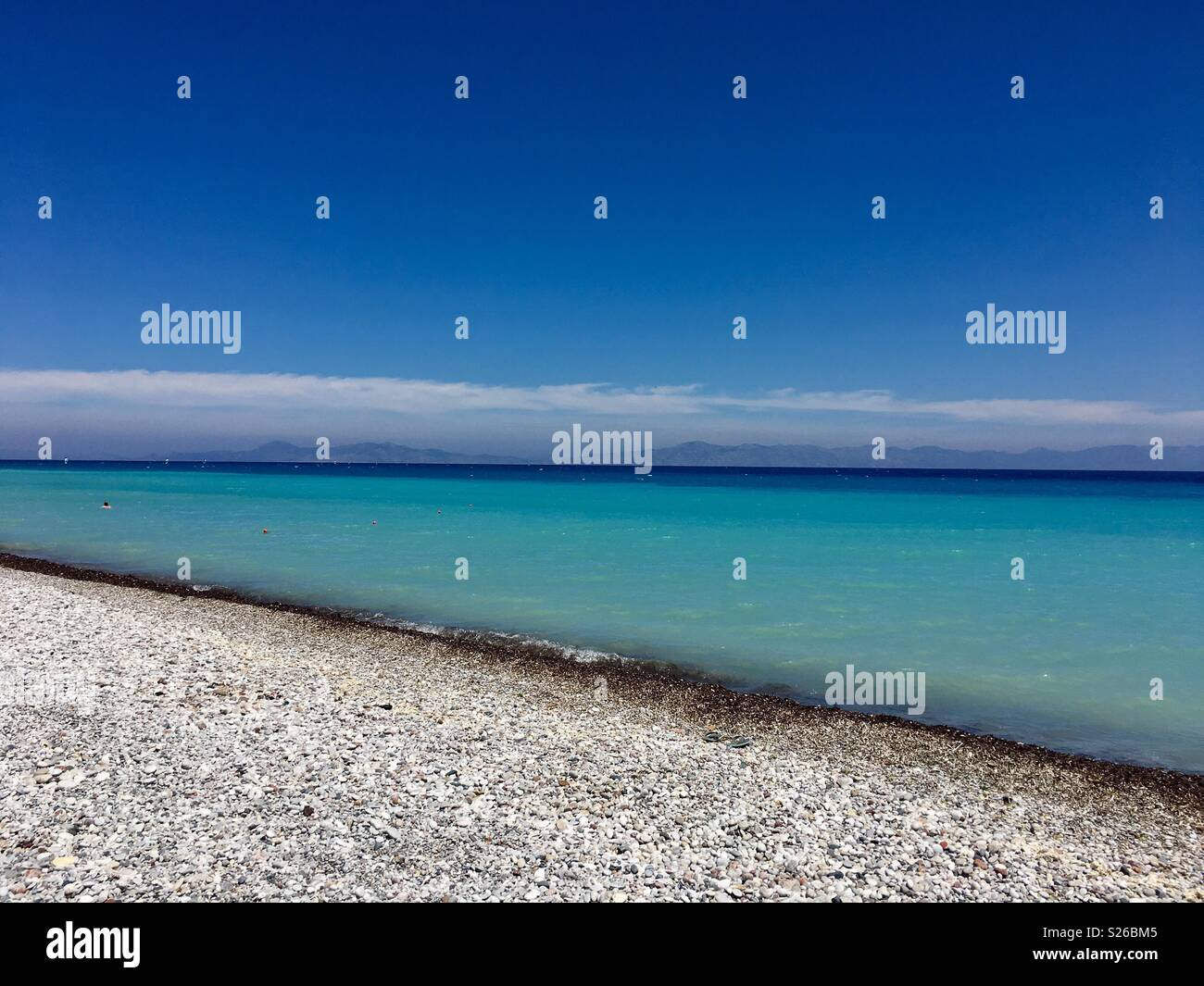 Paradise beach - Stock Image