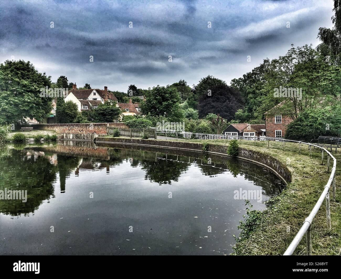 Polstead Suffolk England - Stock Image