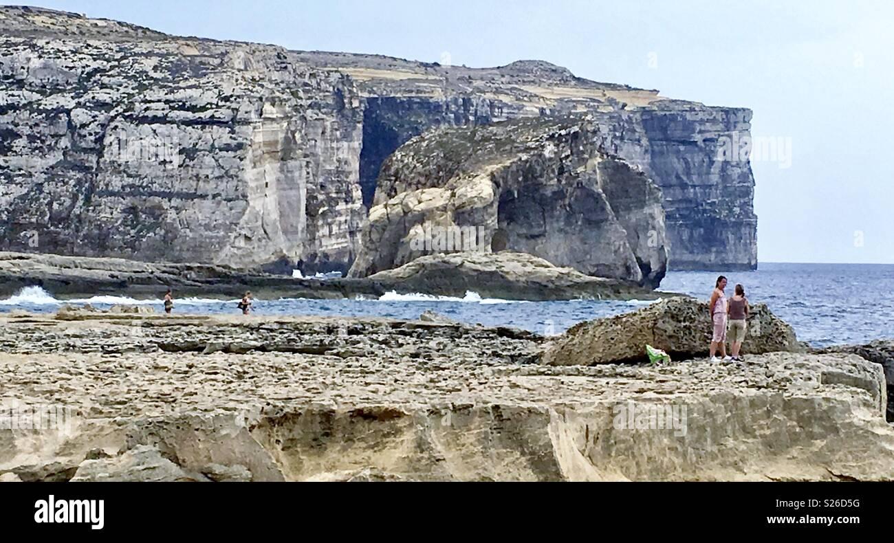 Saint Laurence Gozo Malta - Stock Image