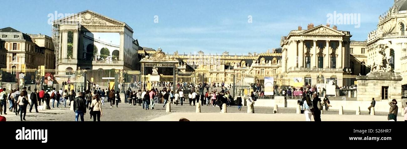 Palace of Versailles - Stock Image