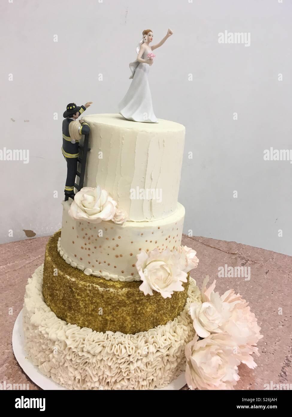 Dorable Firefighter Wedding Cake Topper Inspiration - Wedding Idea ...