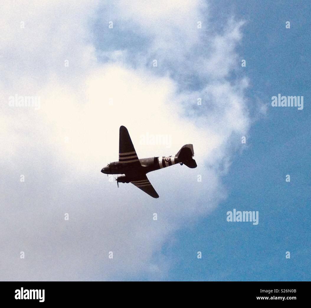 RAF Plane - Stock Image