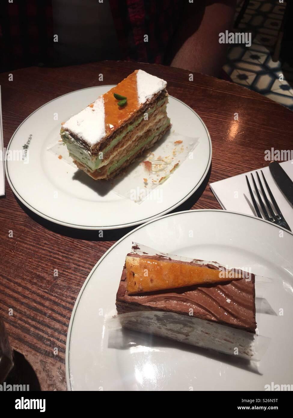 Mmmm cakes - Stock Image