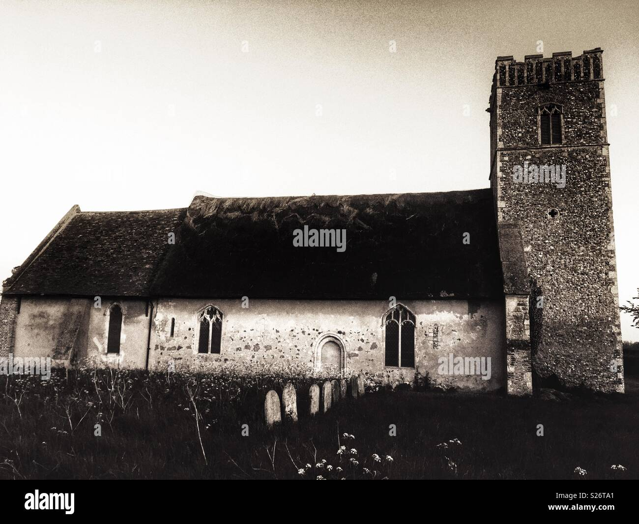 Butley Church England - Stock Image