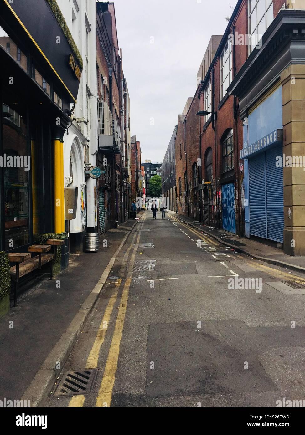 Spear Street, Manchester - Stock Image