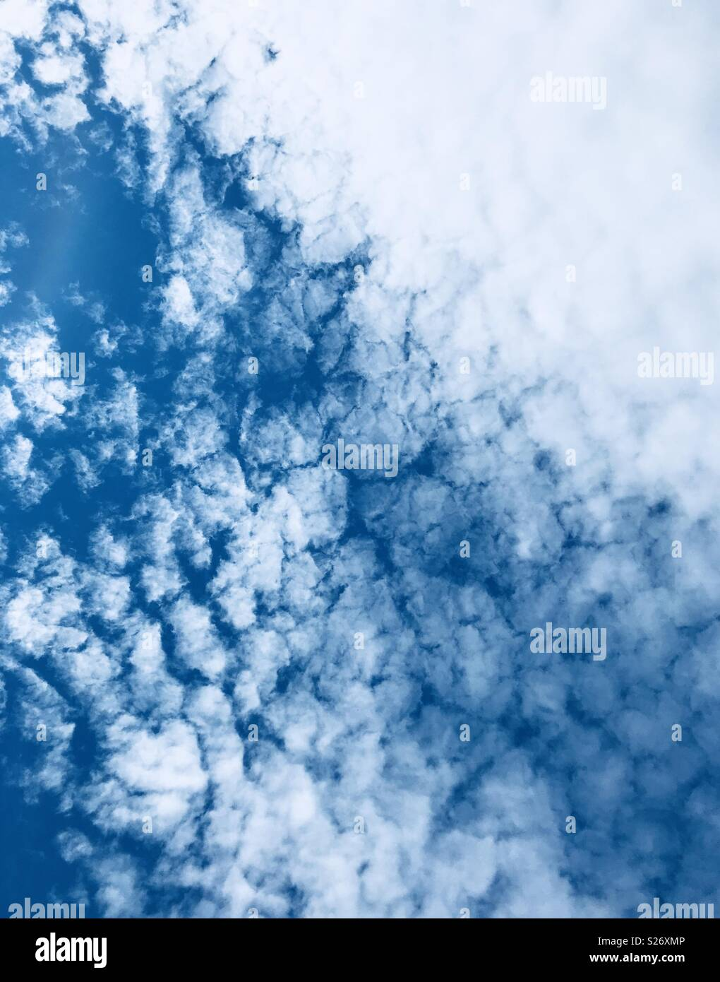 Cool clouds - Stock Image
